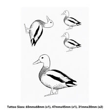 'Duck' Temporary Tattoos (TO022135)