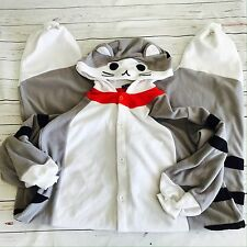 SAZAC Tabby Cat ADULT SIZE Costume Pajamas Cosplay Animal - See Measurements