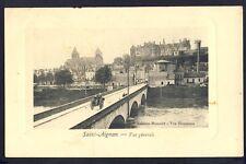 CPA RARE 41 - St AIGNAN  MENU 1911 ALIX HÔTEL de la GERBE d'OR Fête Républicaine