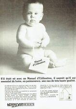 Publicité Advertising 087  1987   Culligan  manuel utilisation Aqua clear eau