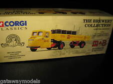 CORGI CLASSICS M & B SCAMMELL SCARAB DELIVERY TRUCK SET BREWERY COLLECTION