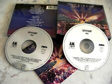 SUPERTRAMP PARIS LIVE 2 CD FATBOX 1980 AM RECORDS MADE IN WEST GERMANY