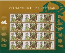 4375 Lunar New Year of the Ox Full Sheet of 12