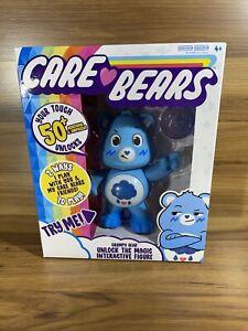 2020 Interactive CARE BEARS GRUMPY BEAR BLUE NEW 50+ Reactions Unlocks The Magic