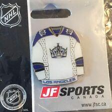 NHL Los Angeles Kings White Jersey Lapel, Pin, Badge