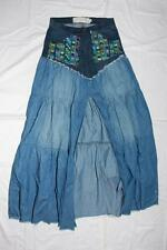 New WithoutTag!!  Women's Long Skirt with Denim SIZE 24 - Absolute Beauty