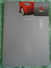 Mitsubishi Colt range brochure Jul 2007