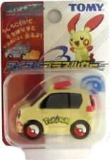 Takara Tomy Pokemon AG Black & White Minun Plusle Pull Back Car - Red