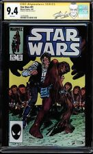 Star Wars #91 Cgc 9.4 White Pages Ss Stan Lee Signed New Label Cgc #1227814008
