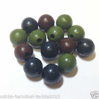 8mm RUBBER SHOCK BEADS X 50