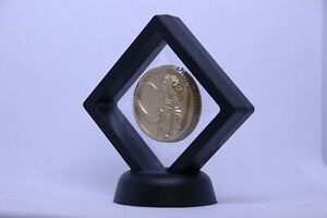 Mighty Morphin Power Rangers Power Coin Black Ranger Mastodon Legacy Gold