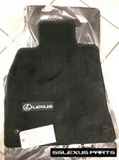 Lexus LS460L (2007-2012) (RWD /LongWheel Base) 4pc CARPET FLOOR MATS (Black) OEM