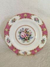 """ROYAL ALBERT Bone China LADY CARLYLE 2003 Dinner Plate 10.5"""" NEVER USED GORGEOUS"""