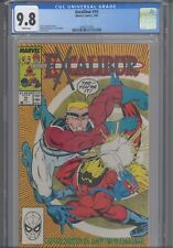 Excalibur #10 CGC 9.8 1989 Marvel Terry Austin Cover & Art Pin-up Back Cover