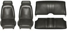 1969 Camaro Coupe Standard Interior Seat Cover Kit  OE Quality!  Black