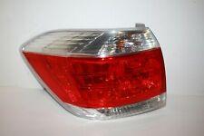 11 12 13 TOYOTA HIGHLANDER TAIL LIGHT LAMP LEFT DRIVER USED OEM