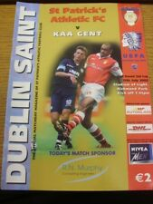 13/07/2002 St Patricks Athletic v Gent [Intertoto Cup] . Thanks for viewing this
