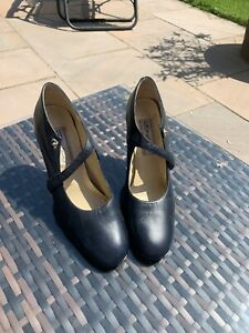 Dolcis Navy Court Shoes