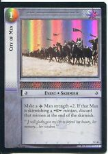Lord Of The Rings Foil CCG Card RotK 7.C83 City Of men