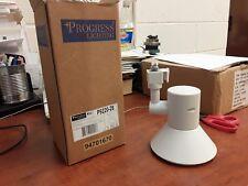 Progress P9220-28 Shallow Profile - One Light Track Head, Bright White Finish