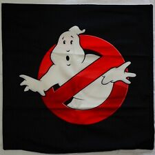 Ghostbusters Logo Cushion Cover Velvet Pillow Movie 80s Comedy Flim