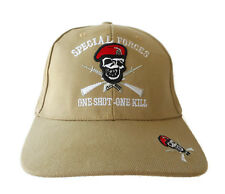 SPECIAL FORCES Hat Cap US MILITARY One Shot One Kill Red Beret