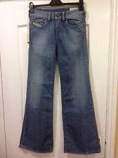 Véritable Femme DIESEL YBO laver 008RI jeans stretch Taille 24 W 32 L Bnwt