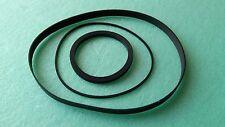Riemen-Set für PIONEER CT-F1250 Kassettendeck Cassette Tape Deck Rubber Belt-Kit