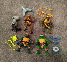 TMNT VINTAGE LOT COMPLETE WINDUP ACTION FIGURE WACKY WALKIN MOUSER NINJA TURTLE