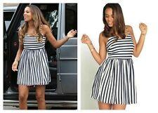 Short/Mini Sundresses Striped Sleeveless Dresses for Women