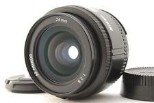 """""""""""Mint"""""""" Nikon Af 24mm F2.8 Lentille Mf Reflex 35mm De Japon"""