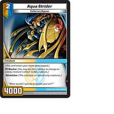 Kaijudo X1 AQUA STRIDER Common #71/110 7CLA Clash of the Duel Masters 2013