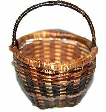 NICELY WOVEN SMALL EGG BASKET COLLECTIBLE COUNTRY DECOR * CRAFTING CRAFTS