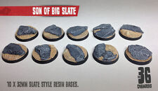 Son of Big Slate 10 x 32mm round resin bases