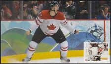CANADA # 2942.07 SID CROSBY HOCKEY STAMP on FIRST DAY COVER