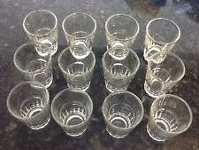 Lot of 24 New Shot Glasses Glass Barware,Shots, Whiskey Tequila Vodka Rum drink