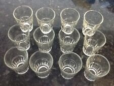 Lot of 24 New Shot Glasses Glass Barware,Shots, Whiskey Tequila party drink