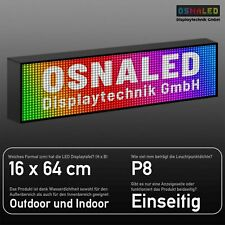 LED Laufschrift Display RGB Full Color WLAN WiFi Text Videos LEUCHTREKLAME
