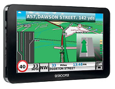 "Snooper S8110 Ventura Pro 7"" Caravan Motorhome GPS Sat Nav UK EU Map Freeview TV"