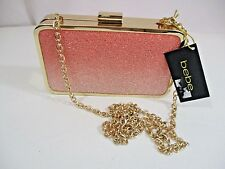NWT bebe OMBRE MINAUDIERE CLUTCH 1 SIZE Fabulous minaudiere clutch msrp$60.00+