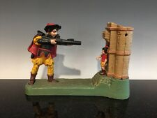 A Vintage Reproduction William Tell Cast Iron Bank