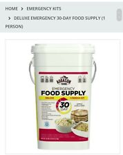 1-Person 30-Day Emergency Food Supply 307 Servings Augason Farms QSS-Certified