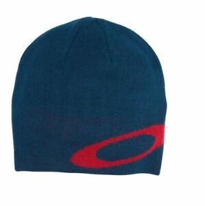 NWT Oakley Ellipse Logo Knit Beanie - Poseidon Blue - OSFM (MSRP $25.00)