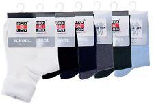 SOX&LOX -[Back To School]Plain School Socks, Thin, Various Sizes [MADE In Korea]