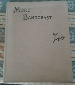 MORE BANDOBAST BY SNAFFLES 1936 1ST EDITION HUNTING SPORT INDIA ILLUSTRATED BOOK