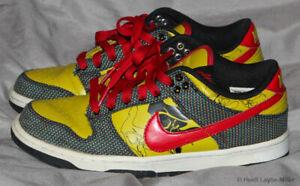 Nike Dunk Low Premium SB Size 7.5 Volt Red Black 313600-061 L@@K