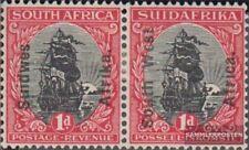 Namibië - Southwest 91-92 horizontaal Echtpaar met Fold 1927 Print editie