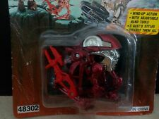 Star Trooper Laser Workbot Red New Ray Figure 1995