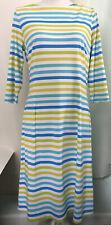 J. McLaughlin Multi-Color Stripe Sheath Dress