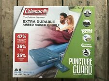 Coleman Extra Durable Airbed Raised Double 2000031639